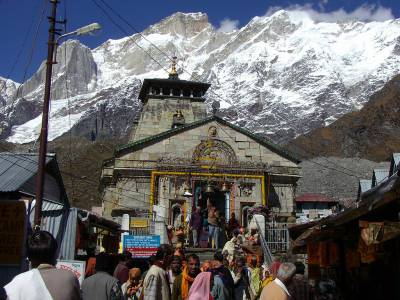 Kedarnath Temple Pilgrimage Site in uttarakhand