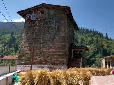 Shani Dev Temple Kharsali Almora Uttarakhand