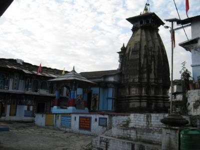 Omkareshwar Temple Rudraprayag