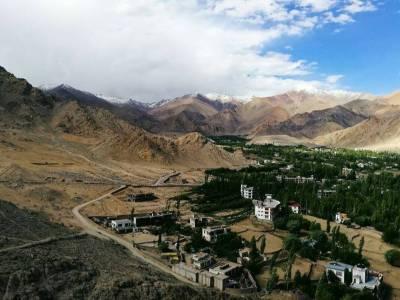Leh Palace in Leh