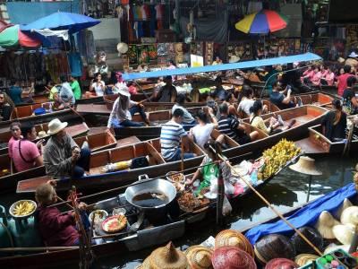 Floating Markets Bangkok