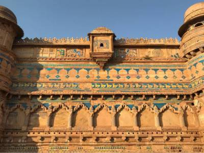 Gwalior Fort Architecture Style