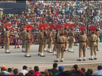 Wagah Border Amritsar Punjab