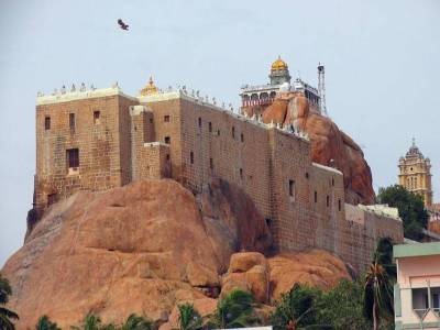 Tiruchirapalli Rock Fort in Tiruchirappalli