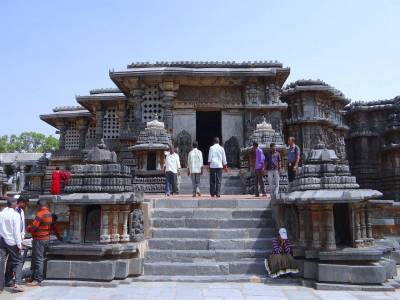 Hoysaleswara Temple Halebidu Hassan