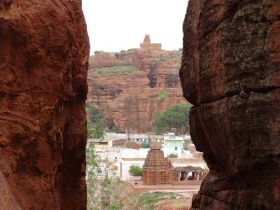 Badami Fort Bagalkot Karnataka