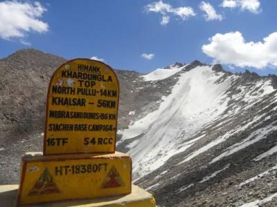 Khardungla Pass Leh