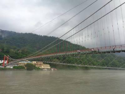 Lakshman or laxman Jhula Rishikesh Dehradun Uttarakhand