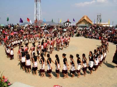 Aoling Festival in Mon Nagaland