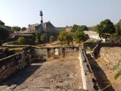 Portuguese Fort In Diu