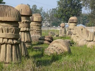 Dimasa Kachari Ruins Dimapur