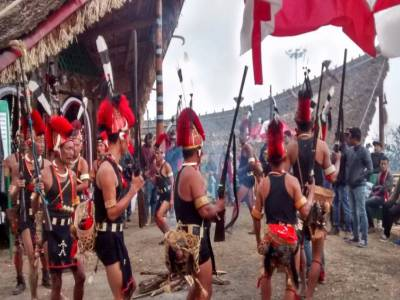 Khonoma Village Nagaland