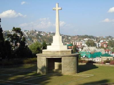 Kohima War Cemetery Nagaland