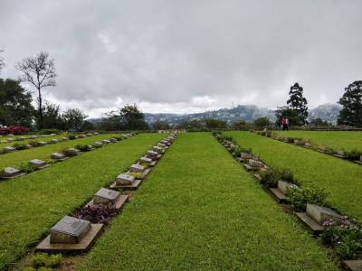 War Cemetery in Nagaland