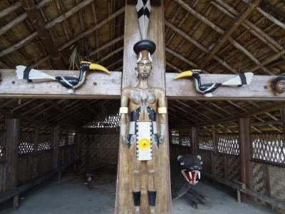 Naga Heritage Village Kohima Nagaland