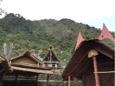 Kisama Heritage Village in nagaland
