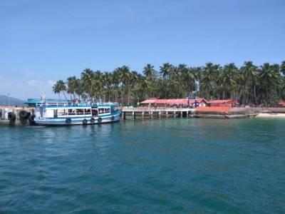 Ross Island Andaman and Nicobar Islands