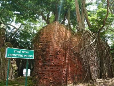 Ross Island Andaman & Nicobar Islands