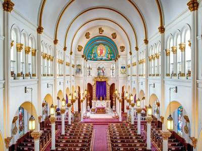 Basilica Church in Pondicherry