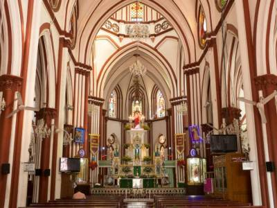 Basilica of the Sacred Heart of Jesus Puducherry