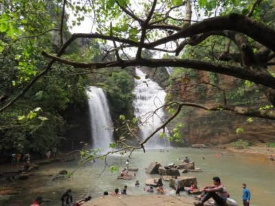 Tirathgarh Waterfalls