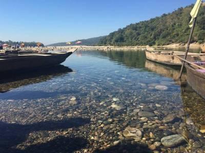 Umngot River and Dawki River