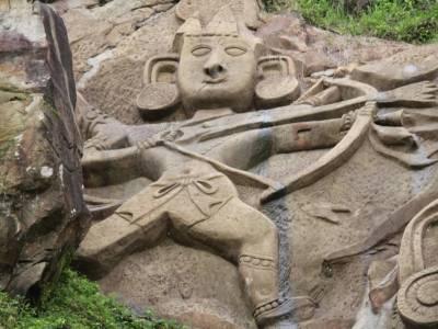 Unokotiswara Kal Bhairava Temple