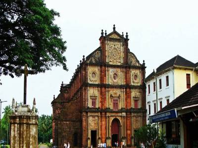 Basilica of Bom Jesus South Goa