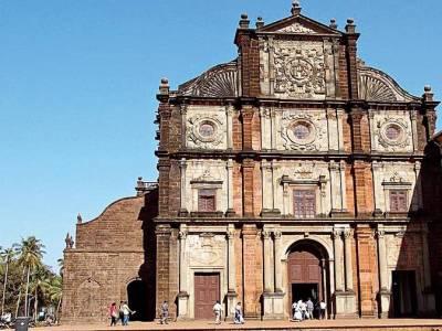 Basilica of Bom Jesus Goa