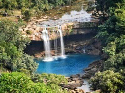Krang Shuri Waterfalls West Jainita Hills Meghalaya