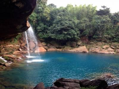 Krang Shuri Waterfalls