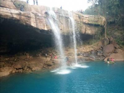 Krang Shuri Waterfalls India