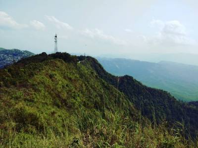 Durtlang Hills in Aizawl