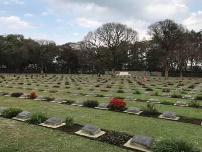 Imphal War Cemetery in Manipur