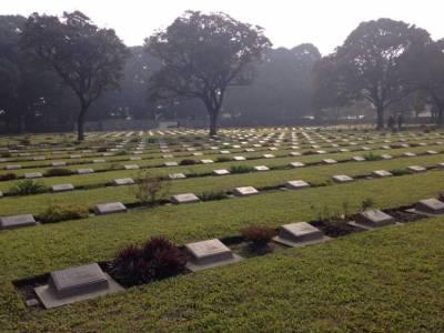 Imphal War Cemetery in Imphal Manipur