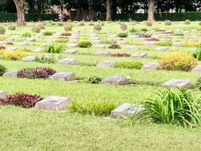 Imphal War Cemetery in Imphal