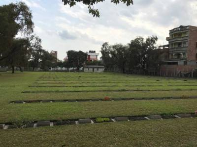 Indian Army war cemetery in Manipur