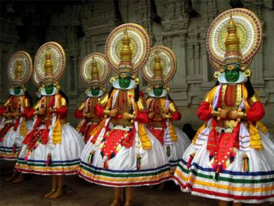 Kathakali Classical Dance in India