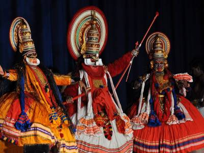 Kathakali Traditional Dance Form in India