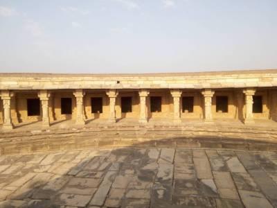 Chausath Yogini Temple in Morena