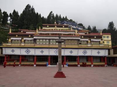 Ranka Monastery Gangtok Sikkim