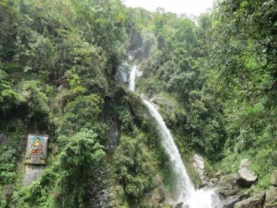 Seven sisters waterfalls Gangtok Sikkim