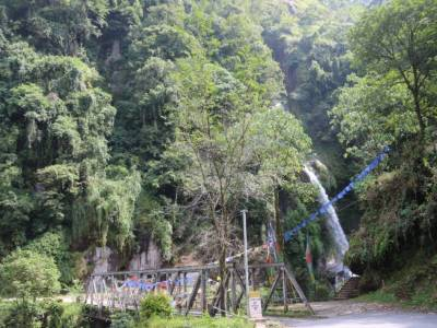 Seven sisters falls Sikkim