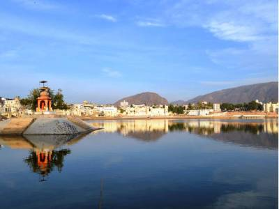 Brahma Temple in Pushkar of Rajasthan