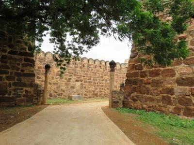 Gandikota Fort in Kadapa of Andhra Pradesh