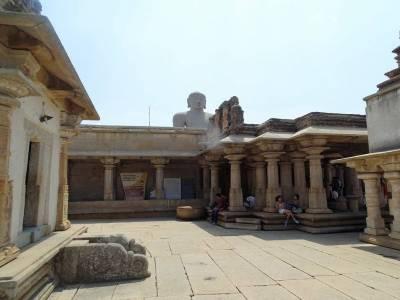 Gommateshwara Statue in Hassan, Karnataka