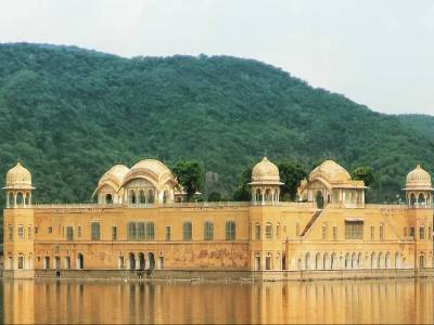 Water Palace in Jaipur