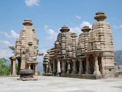 Katarmal Sun Temple Almora Uttarakhand