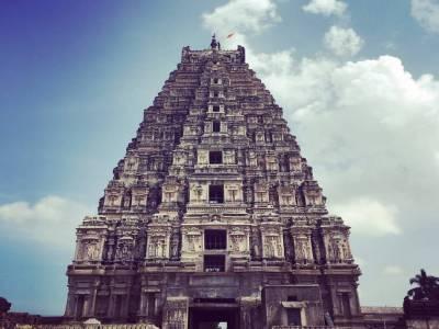 Virupaksha Temple Hampi Bellary Karnataka