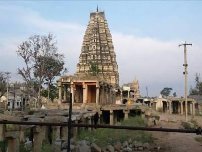 Virupaksha Temple in Karnataka